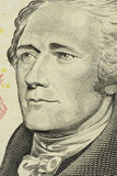 доллары предпосылки изолировали нас белые Стоковое Изображение RF