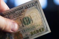 доллары рук Стоковое Фото
