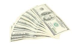 доллары 100 счета Стоковые Фото