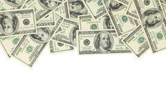 доллары 100 счета Стоковая Фотография RF