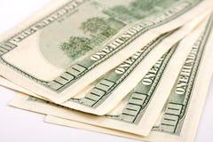 доллары 400 Стоковое Изображение