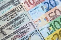 доллар кредиток много Стоковая Фотография