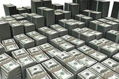 доллар клиппирования 3d высокий включает качество путя представляет стог Стоковые Изображения