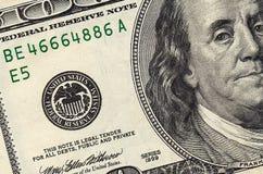 доллар 100 один стог Стоковое Фото