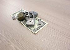 доллар одно детали кредитки Стоковая Фотография RF