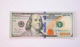 доллар 100 одно кредитки Стоковые Изображения RF