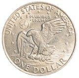 доллар одно монетки мы Стоковые Фотографии RF