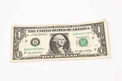 доллар одно мы Стоковая Фотография