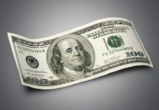 доллар 100 одно счета Стоковое Фото