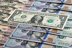доллар одно Стоковая Фотография RF