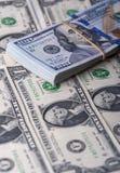 доллар 100 счетов один стог Стоковое Изображение