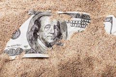 доллар 100 счетов Стоковая Фотография RF