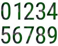 0 до алфавит 9 Стоковые Изображения RF