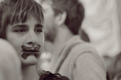 О девушке Стоковая Фотография