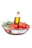 одевать томаты красного цвета меда Стоковое фото RF