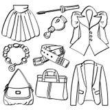одежда вспомогательного оборудования Стоковые Изображения RF