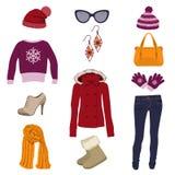 Одежда зимы Стоковые Изображения RF