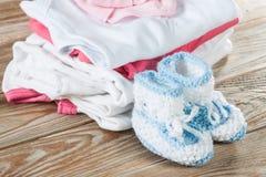 Одежда младенца Стоковое Изображение