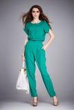 Одежда носки женщины красоты сексуальная стильная вскользь для встречать хлопок блузки прогулки silk задыхается fashi формы тела  Стоковые Фотографии RF