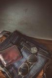 Одежда для людей - год сбора винограда тона Стоковые Фото