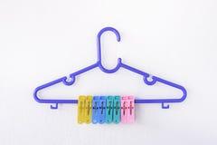 Одежды вешалки Стоковое Изображение RF
