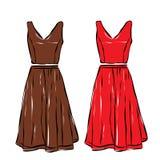Одежды женщины Стоковая Фотография RF