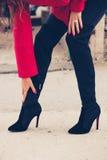 Одежды зимы женщины Стоковые Фотографии RF