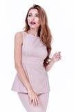 Одежды каталога стиля моды очарования вскользь для meetin дела Стоковые Изображения RF