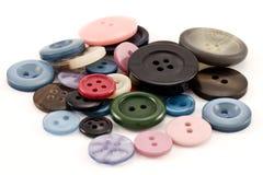 одежды кнопок Стоковые Изображения