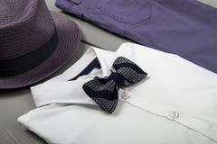 Одежды моды детей, обмундирование людей Стоковая Фотография RF