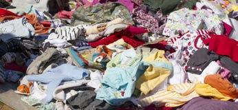 Одежды младенца и малыша Стоковое фото RF