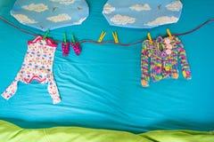 Одежды младенца Стоковые Фотографии RF