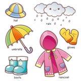 Одежды дождя бесплатная иллюстрация