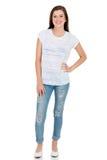 одежды предназначенной для подростков девушки вскользь Стоковая Фотография RF