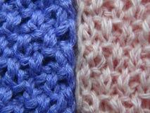 Одежды ткани вязать Стоковая Фотография