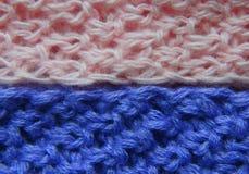 Одежды ткани вязать Стоковое Фото