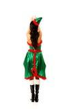 Одежды эльфа женщины нося Стоковое Изображение