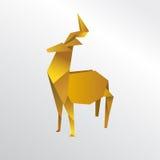 Олени Origami Стоковое Изображение
