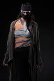 Одетые женщины с различными дизайнами как женщины ратника Стоковое Изображение RF