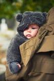 Одетый на зима Стоковая Фотография