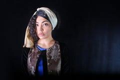 одетьйте этническую женщину Стоковые Фото