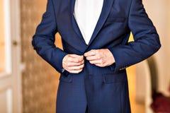 Одетьнный человек Стоковые Фотографии RF