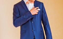 Одетьнный человек Стоковое Изображение