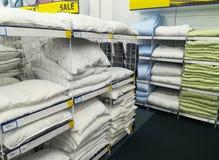 Одеяла и подушки Стоковая Фотография