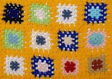 Одеяло вязания крючком Стоковое Изображение RF