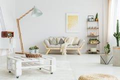 Одеяло на кресле Стоковое Фото