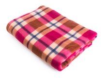 Одеяло, одеяло на предпосылке Стоковые Изображения