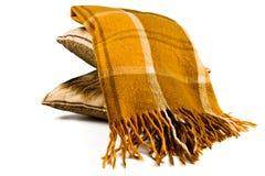 Одеяло шотландки Стоковое Изображение