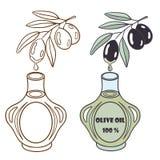 1 оливка масла Стоковая Фотография RF