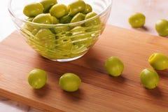 Оливки в шаре Стоковые Изображения